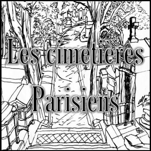 Les cimetières Parisiens - Père Lachaise - Montmartre - Montparnasse - Passy