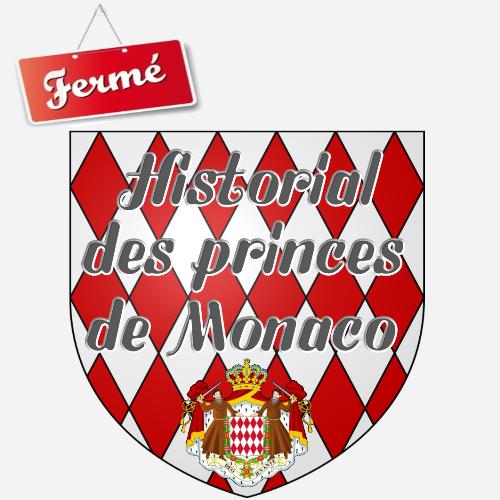 Historial des princes de Monaco - Musu00e9e de cire - Fermu00e9