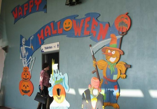 Marineland - decors halloween