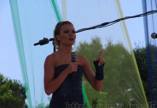 Marineland - Animations - Repetitions concert - Chanteuse