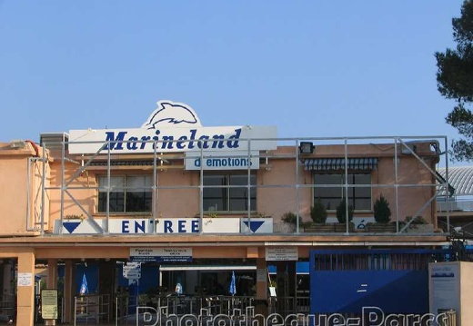 Marineland - Travaux et modifications - entree
